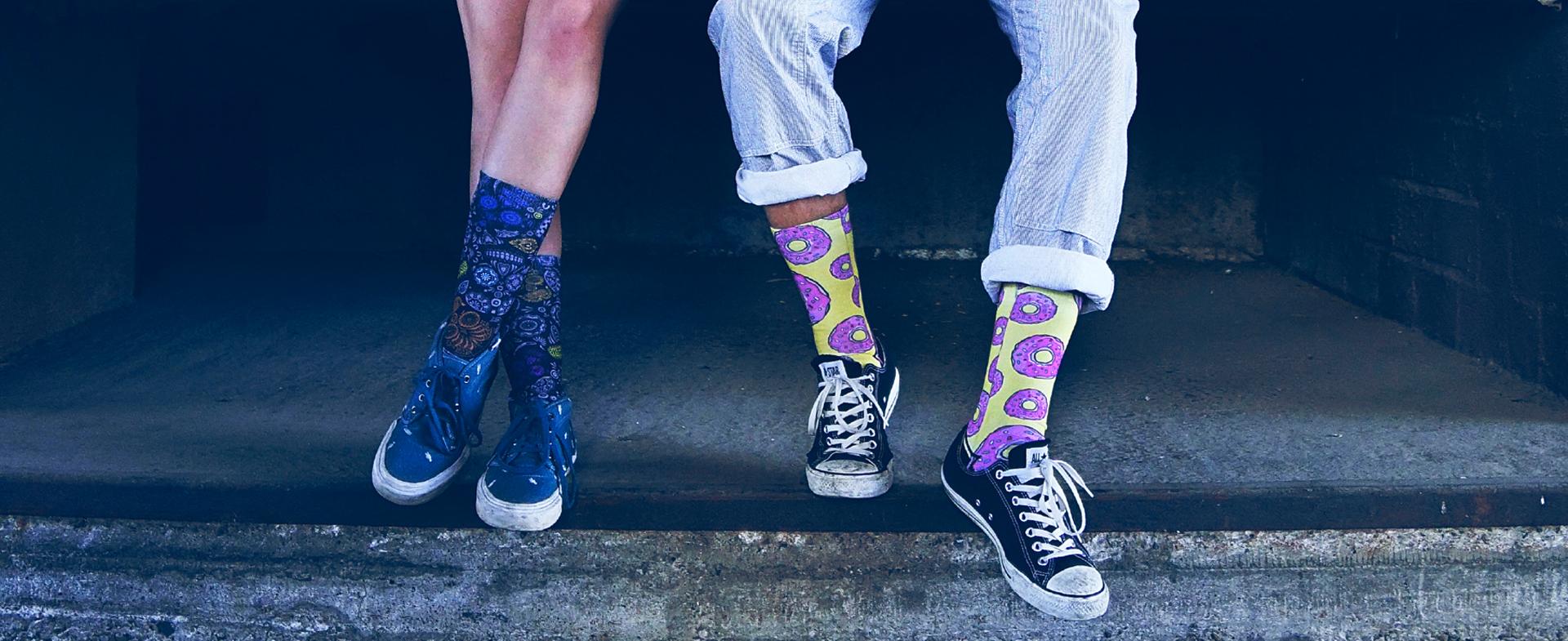 LUF SOX bedruckte Lifestyle Socken